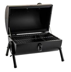 SMOKEY Barbecue de table noir H 36 x Larg. 42 x P 29 cm