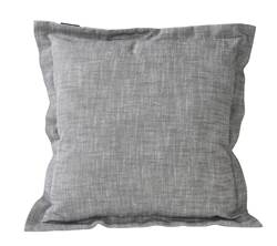 CHAMBRAY Housse gris clair Larg. 45 x Long. 45 cm