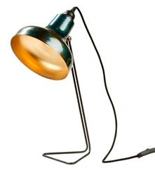 ISOLDE Lampe de table noir H 49,5 x Larg. 21 x P 14,5 cm