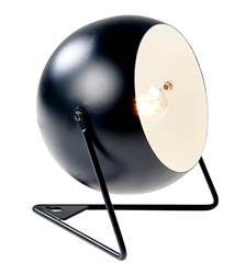 BOWL Lampe de table noir H 16,5 x Larg. 17 x P 17 cm