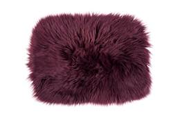 FUR Set de table rouge foncé Larg. 32 x Long. 45 cm
