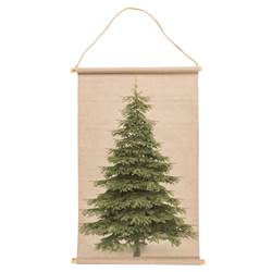 PINE TREE Deco da parete multicolore W 58 x L 88 cm