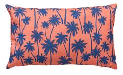 BAHAMAS Coussin orange Larg. 30 x Long. 50 cm