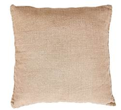 VLASSO Coussin naturel Larg. 50 x Long. 50 cm