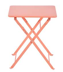 ANABEL Table pliante pour enfants rose H 45 x Larg. 40 x Long. 40 cm