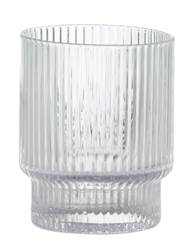 TONIC Glas Transparent H 10 cm; Ø 7 cm