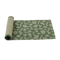 PALM LEAF Runner verde W 40 x L 140 cm