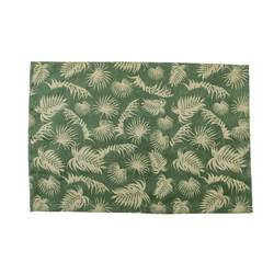 PALM LEAF Set de table vert Larg. 33 x Long. 48 cm