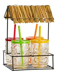 TIKI Set bar 5 pezzi multicolore