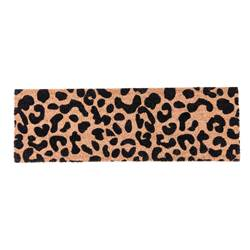 CHEETAH Paillasson brun clair Larg. 25 x Long. 75 cm