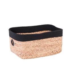 NATUREL Cassetto nero, naturale H 18 x W 32 x D 25 cm