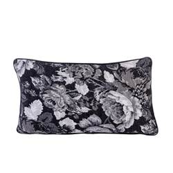BLACK ROSE Cuscino multicolore W 30 x L 50 cm