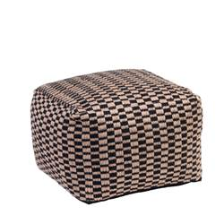 CUBI Pouf multicolore Larg. 50 x Long. 50 cm