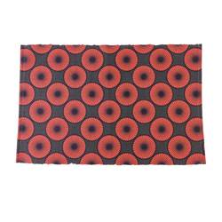 AFRI Tapis orange Larg. 60 x Long. 90 cm