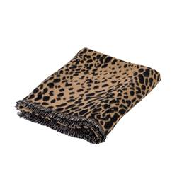 COUGAR Plaid marrone chiaro W 130 x L 160 cm
