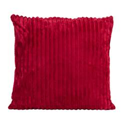 CHUBBY Coussin rouge Larg. 50 x Long. 50 cm