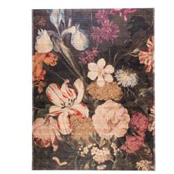 BOUQUET Tapis multicolore Larg. 90 x Long. 120 cm