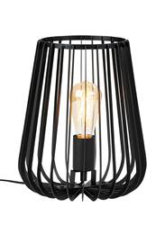 ORION Lampe de table noir H 30 cm; Ø 25 cm