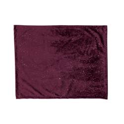 BURGUNDY Placemat donkerrood B 38 x L 48 cm