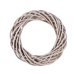 WILLOW Couronne gris H 7 cm; Ø 35 cm