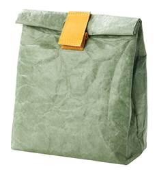 WE CARE Saco-lancheira verde H 29 x W 20 x D 10 cm
