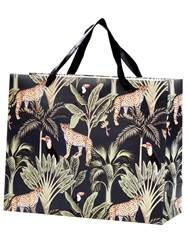 JUNGLE Borsa multicolore H 26 x W 32 x D 12 cm