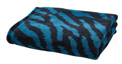 BLUE TIGER Plaid multicolor B 130 x L 160 cm