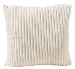 CHUBBY  Coussin beige Larg. 50 x Long. 50 cm