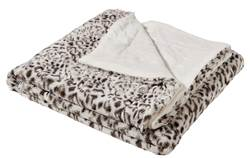 SNOW LEOPARD Manta multicolor W 130 x L 160 cm