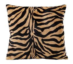 TIGER Coussin multicolore Larg. 40 x Long. 40 cm