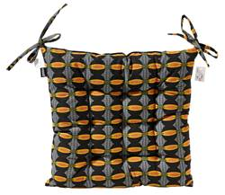 AFRI Coussin d'assise multicolore Larg. 40 x Long. 40 cm
