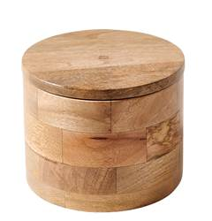 PURE LUXURY Pot de rangement naturel H 12.5 cm; Ø 15 cm