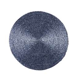 PEARLY ICE Placemat blauw Ø 35 cm