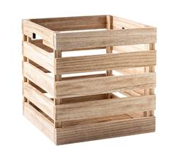 FOLD NATUREL Caja plegable natural A 30 x An. 30 x P 30 cm