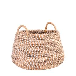 DOLLY Panier naturel H 34 cm; Ø 51 cm