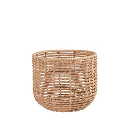 ALABAMA COCO Panier indoor/outdoor naturel H 29 cm; Ø 34 cm