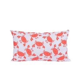OH CRAB! Coussin multicolore Larg. 30 x Long. 50 cm