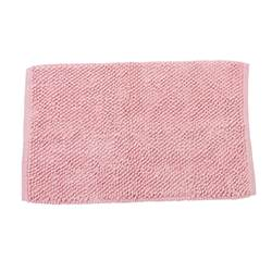 KAIA Tapis de bain rose clair Larg. 50 x Long. 80 cm