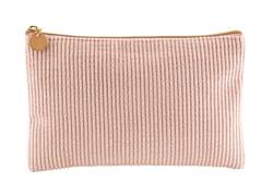 RIYA  Trousse de maquillage rose Larg. 15 x Long. 24 cm