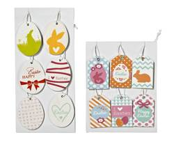 EASTER Hangdeco set van 6