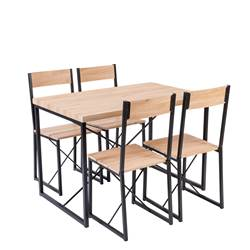 BASIC Set dinner naturale H 75 x W 70 x L 110 cm