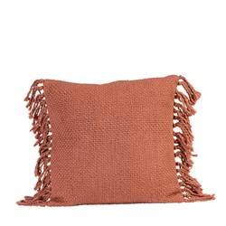 RANA Coussin rouge Larg. 45 x Long. 45 cm