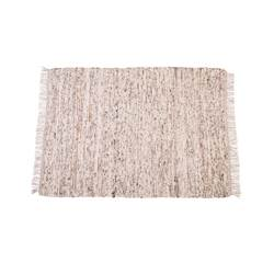 GRAIN Tapis brun clair Larg. 160 x Long. 230 cm