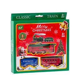 RAILWAY Set trenino di Natale multicolore