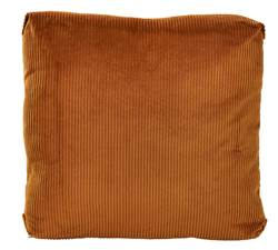 CAMBRIDGE Coussin camel Larg. 50 x Long. 50 cm