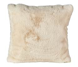 FAKE RABBIT Coussin blanc Larg. 50 x Long. 50 cm