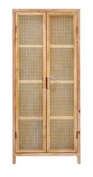WEBSTER Armoire naturel H 165 x Larg. 70 x P 40 cm