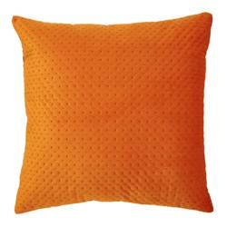 PIA Coussin orange Larg. 43 x Long. 43 cm
