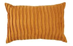 CURRY Coussin jaune Larg. 40 x Long. 60 cm
