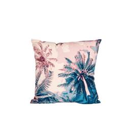 PALM BEACH Coussin multicolore Larg. 40 x Long. 40 cm